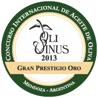Guides and Awards extra virgin olive oil Oro Don Vincenzo, Olivinus 2013